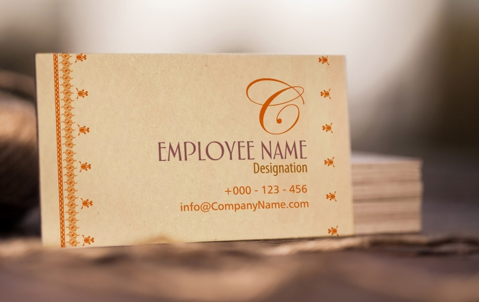 The New Year Calls for a New Business Card